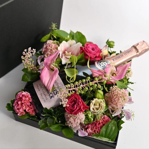 flower&champagne