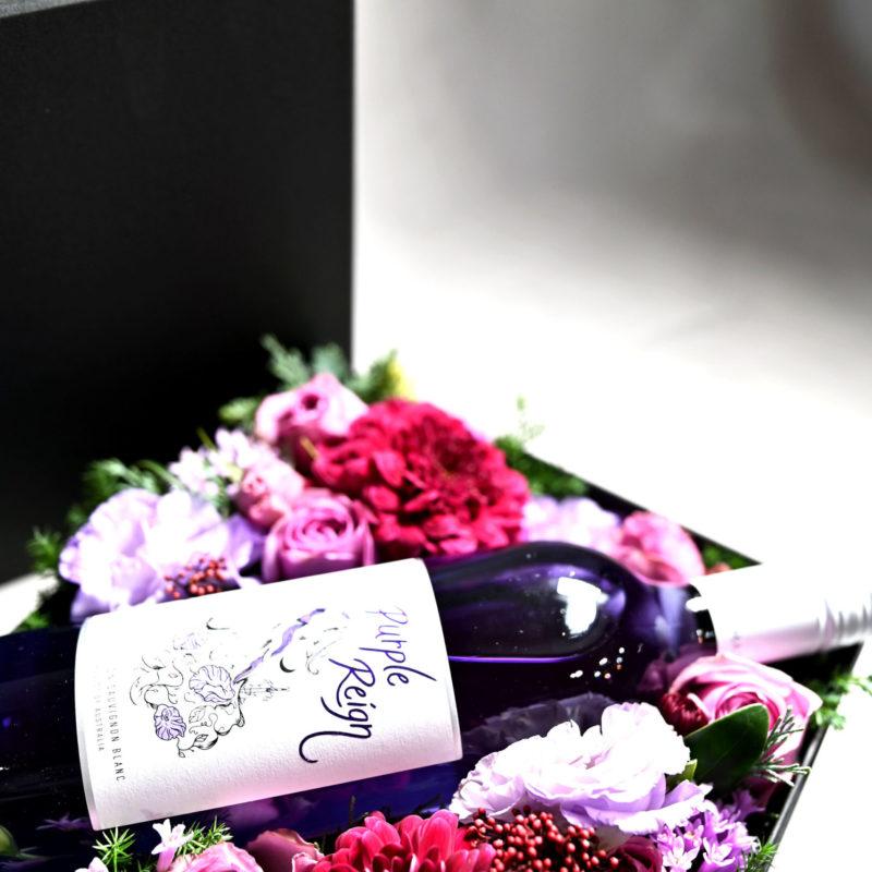 Flower & PurpleWine