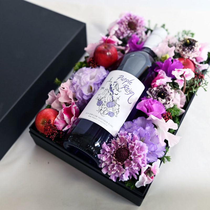 X'mas Flower & PurpleWine